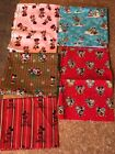 New Mickey Mouse Disney Fabric Material Holiday Xmas Etc By The Yard