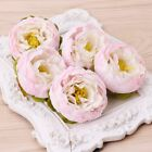 5pcs Artificial Peony Flower Heads Diy Craft For Home Room Wedding Party Decor