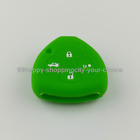 Fit For Toyota Camry Venza Silicone Skin Cover Shell Remote Key Holder Case Fob