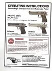 Magnum Research Owners User Manuals Desert Eagle Mr9mr40 Baby Eagle See More