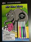 Color By Number Books With Markers 4 Varieties To Choose From New Kids Fun