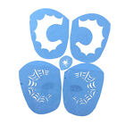 Reusable Face Painting Stencil Body Art Tattoo Party Stage Make Up Template