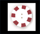 Just Another Button Company - Red Peppermint - 2 Sizes