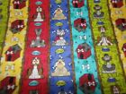 Dogs Puppy Bones Paw Bty Cotton Quilt Fabric U-pick Read Listing For Details