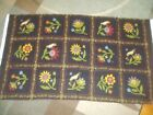 Flannel Flowers Floral Spring Bty Cotton Quilt Fabric U-pick See Read For Info