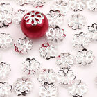 Wholesale Lots 500pcs Silver Gold Plated Metal Flower Bead Caps 6mm Findings Hi