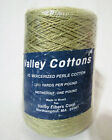 New 32 52 Mercerized Perle Cotton By Valley Cottons 12602100 Yards