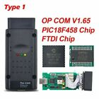 A Opcom With Chip Op-com Can Obd2 For Opel Fcan Pc Based Diagnostic Interface