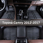 For Toyota Camry 2012-2020 Floor Mat Floor Liner All-weather Waterproof Carpets