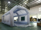 Inflatable Spray Booth W Blowers Portable Mobile Car Paint Custom Party Tent