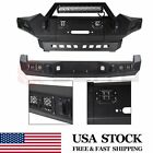 Front Rear Bumper For Toyota Tacoma 2005-2014 2015 W Led Lights Guard D-ring