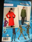 Simplicity Pattern 2057 Ms Project Runway Coatjacket Wcollar Sleeve Options
