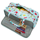 Waterproof Knitting Bag Crochet Hooks Needle Tote Bag Yarn Sewing Storage Holder