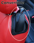 Ford Mustang 2015-2021 Red Iggee S.leather Custom Fit Made 2 Front Seat Covers