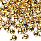 100 Pretty 6mm Gypsy Bells Charms Wholesale Lot  Pick Your Finish