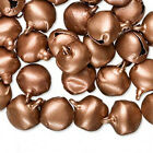 100 Pretty 10mm Gypsy Bells Charms Wholesale Lot  Pick Your Finish