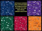 College Cotton Fabric-university Cotton Fabric-sold By The Yard-schools A-l27