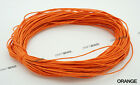 1mm Waxed Polished Cotton Braided Cord Macrame Beading Artisan String - 20 Yards