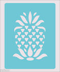Stencil Pineapple Daisy Crafts Paint Wall Decoration Fabric 86