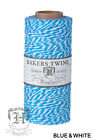 1mm Bakers Twine 100 Cotton 2 Ply Hemptique Macrame Craft String - 410ft Spool