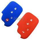 4 Button Rubber Key Fob Remote Cover Case For Lexus Is250 Is350 Is F Rx350 Gs350