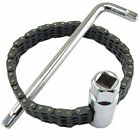 Car Oil Fuel Filter Socket Wrench Removal Install Tool Chain Type Strap Clamp