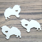 5pcs Dog Cat Charm Silver Tone Heart I Love Dogs Cats Variety Of Dogs Pendant