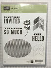 Stampin Up Clear Mount Stamp Sets Retired New Used Free Shipping
