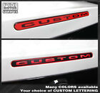 Ford Mustang 2010-2014 Third Brake Light Overlay Stripe Decal Choose Color
