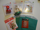 Christmas Stamp And Embellishment Lot Scrapbook Card Making Holiday Set