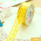 New Roll Diy Washi Paper Lace Decorative Sticky Paper Masking Tape Self Adhesive