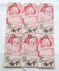 Hang Tags Vintage Style Santa Delivery Christmas Tags T 44 Gift Tags