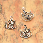 5pcslot Bronze The Last Airbender Charm Halloween Charm Pendants 4 Nations 30mm