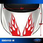 5112-h Hood Flame Tuner Vinyl Graphics Decals Car Truck High Quality Egraf-x