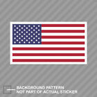 American Flag White Border Sticker Decal Vinyl Usa America Us Flags