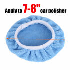 Auto Car Polisher Pads Soft Microfiber Polishing Bonnet Waxing Buffing Cover New