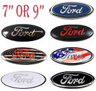 79 For Ford 2004-2014 F150 Front Grille Tailgate Emblem Oval Badge Nameplate