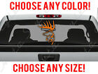 Deer Buck Antlers Hunting Car Truck Decal Vinyl Sticker Custom Any Size Color