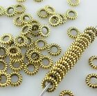 Metal Goldsilver Closed Round Ring Loose Spacer Bead 4mm Jewelry Findings