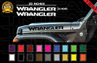 Jeep Wrangler Hood Decals Stickers Graphics Rubicon Jl 2.5 X 23 2018 Models