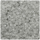 Beadtin Sparkle 4mm Faceted Round Craft Beads 1250pcs - Color Choice