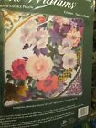 Elsa Williams Crewel Embroidery Pillow Kit -your Choice-jacobean Floral Styles