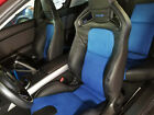2009-2011 Mazda Rx-8 R3 Recaro Replacement Leather Seat Covers Black With Blue