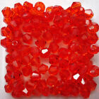 Free Shipping 100-500pcs Crystal 4mm 5301 Bicone Beads You Pick Color