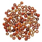 100pcs Mixed Large Hole Wooden-beads Jewelry Charms Crafts Making Diy