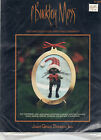 P Buckley Moss Christmas Cross Stitch Ornament Kits - You Choose