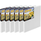 The Edge All Media Cotton Stretched Canvas Paintable Edge Frameless Art Box Of 6