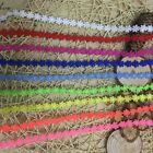 9 Colors 12 Inch Wide Flower Lace Trim  Selling By The Yard Select Color
