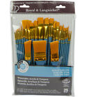 Paint Brushes For Acrylicoilwatercolor Canvas Painting Art Supply All Purpose