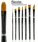Beste Golden Taklon Brush Assorted Shapes And Sizes